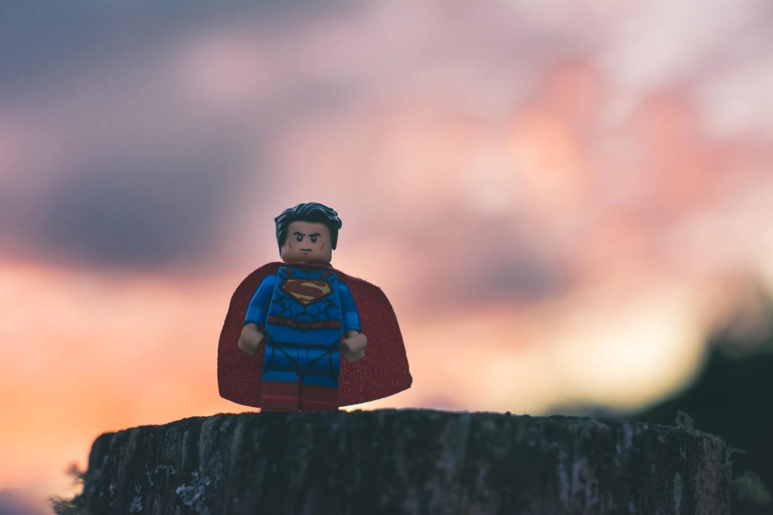Superman Photo by Esteban Lopez on Unsplash
